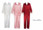 Oscar de la Renta Enchanted Evening Pajamas