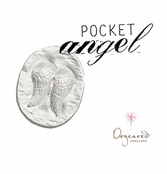 Recycled Sterling Silver Pocket Angel by Dogeared