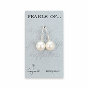 Sterling Silver Pearls Of  Large White Pearl Drop Earrings by Dogeared