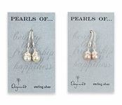 Sterling Silver Pearls Of . . . Pearl Drop Earrings by Dogeared