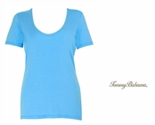 Blue Atoll Indio Tee Scoop Neck T Shirt by Tommy Bahama