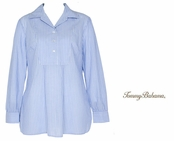 Pencil Stripe Tunic Shirt by Tommy Bahama