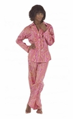 BedHead Carolina Paisley Cotton Sateen Ruffle Pajama