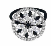 Casino Royale Crystal Ponytail Holder by Spring Street
