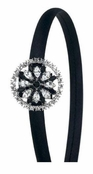Casino Royale Crystal Headband by Spring Street