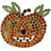 Smiling Jack Pumpkin Pin by Kirks Folly