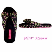 Beach Blanket Bum Flip Flop Slippers by Betsey Johnson