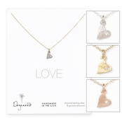 Dogeared Diamond Love Necklace