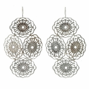 Janna Conner Rhodium Plate Beni Earrings