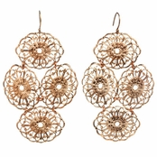 Janna Conner Rose Gold Plate Beni Earrings
