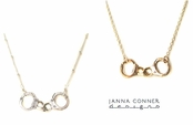 Ballchain Handcuff Necklace by Janna Conner