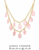 Kolby Gemstone Necklace by Janna Conner