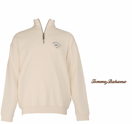 Coconut Cream Relax Aruba ZIp by Tommy Bahama