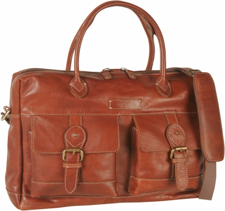 Journey Leather Briefcase  by Tommy Bahama
