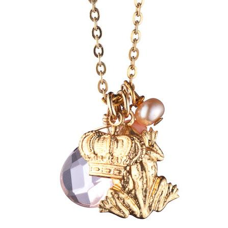 Kiss Me Charm Necklace by Danielle Stevens