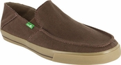 Men's Dark Brown Standard Sidewalk Surfers by Sanuk
