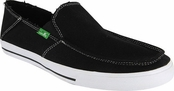 Men's Black Standard Sidewalk Surfers by Sanuk