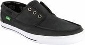 Men's Charcoal Shore Leave Sidewalk Surfers by Sanuk