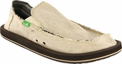 Men's Natural Hemp Sidewalk Surfers by Sanuk