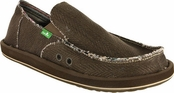 Men's Olive Hemp Sidewalk Surfers by Sanuk