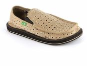 Men's Khaki Holy Moly Sidewalk Surfers by Sanuk
