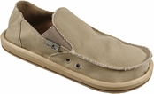 Men's Khaki Vagabond Sidewalk Surfers by Sanuk