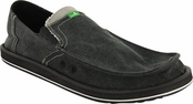Men's Charcoal Pick Pocket Sidewalk Surfers by Sanuk