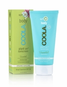 COOLA Plant UV Sunscreen Body SPF 30 Unscented Moisturizer