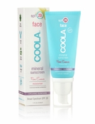 COOLA Mineral Sunscreen Face SPF 20 Lotion Tinted Rose