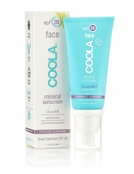 COOLA Mineral Sunscreen Face SPF 20 Lotion Unscented