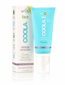 COOLA Mineral Sunscreen Face SPF 30 Cucumber Matte Finish
