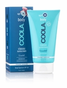 COOLA Classic Sunscreen Body SPF 30 Unscented Moisturizer