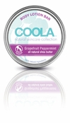 COOLA Grapefruit Peppermint Natural Body Lotion Bar