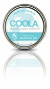 COOLA Unscented Natural Body Lotion Bar