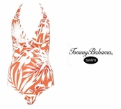Jungle Fever Halter One Piece Swim Suit by Tommy Bahama