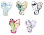Diva Shoes Embellished Note Pads