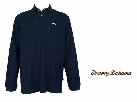 TB Del Mar Long Sleeve Polo by Tommy Bahama