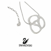 Crystal Single Element Necklace by Swarovski