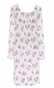Lauren Ralph Lauren Pink Floral My Fair Lady Bingham Knits Short Gown