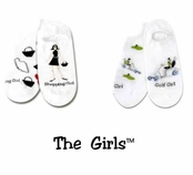 The Girls 2-Pair Socks Set by K. Bell