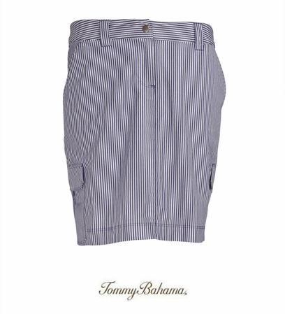 Tiny Ticking Stripe Skort by Tommy Bahama