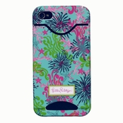 Lilly Pulitzer iPhone 4 Case - Dirty Shirley