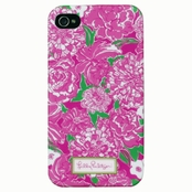 Lilly Pulitzer iPhone 4 Case - May Flowers