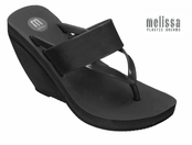 Aquarius Wedge Sandals by Melissa Plastic Dreams