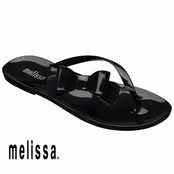 Black Melissa Cute Sandals