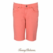 Light Havana Luna Denim Bermuda Shorts by Tommy Bahama