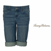 Starlight Denim Bermuda Shorts by Tommy Bahama
