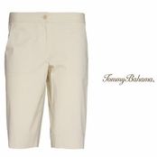 Abalone Jet Away Twill Bermuda Shorts by Tommy Bahama
