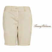 "Sandbar Jet Away Twill 9"" Bermuda Shorts by Tommy Bahama"