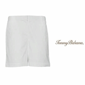 "White Jet Away Twill 7"" Shorts by Tommy Bahama"